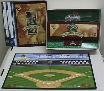 APBA Pro Baseball Board Game
