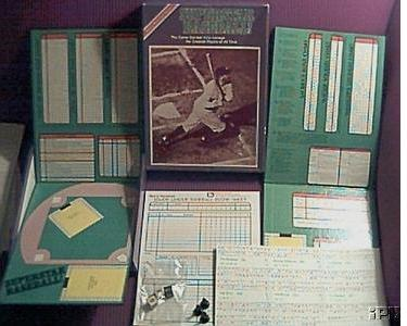 Avalon Hill Superstar Baseball Board Game