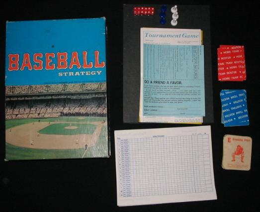 Avalon Hill Baseball Stategy Game