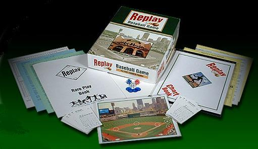 Replay Baseball Game