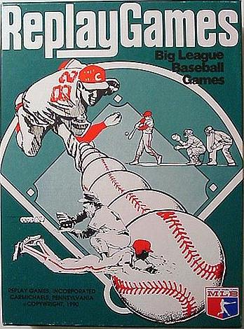 Replay Games Big League Baseball Game