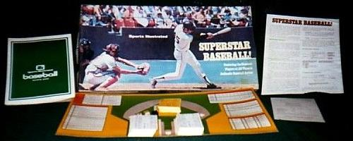 superstar baseball sports illustrated baseball board game